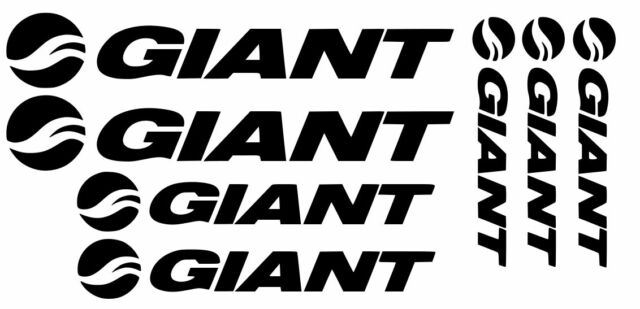 Giant decals stickers mtb dh bike racing glory reign tcr trance gear helmet