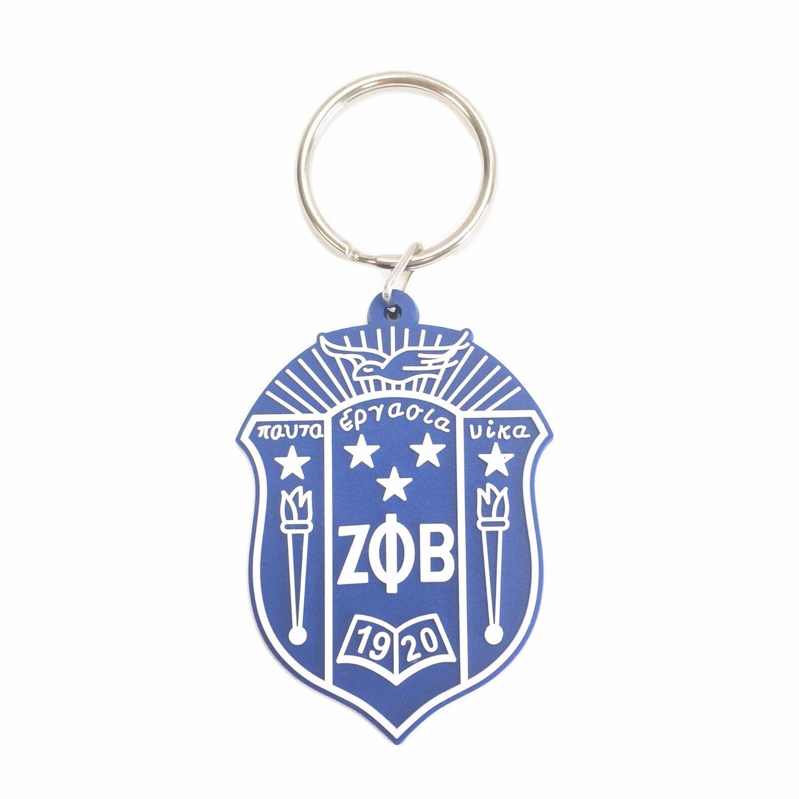 G840 zeta phi beta pvc shield keychain ebay picture 1 of 1 buycottarizona