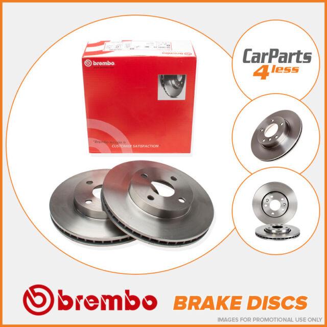 OE Quality Rear Brake Discs 295mm Solid Volvo 850 C70 S70 V70 Brembo 08.5569.21