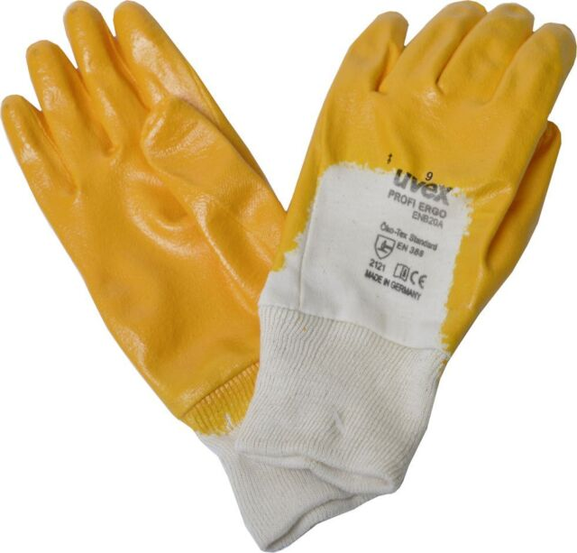 uvex Arbeitshandschuhe PROFI ERGO Gr. 9 (L) Montagehandschuhe - 1 Paar
