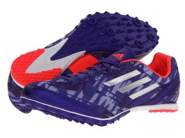 Women Adidas XCS Spikeless G96481 Blast Purple Silver Red 100% Authentic New