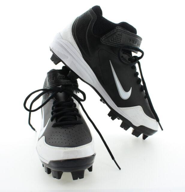 Nike Men\u0027s Huarache 2K Fresh Molded Baseball Cleats Shoes 472289 Black Sz  6.5-10