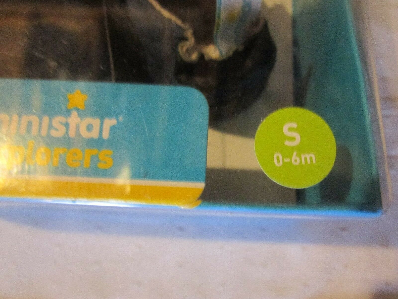 Ministar Explorer Red White & Blue Baby Shoe Size Small 0 6 Months