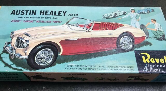 Revell H 1217 Austin Healey 100 Six Vintage Model Car Kit Part
