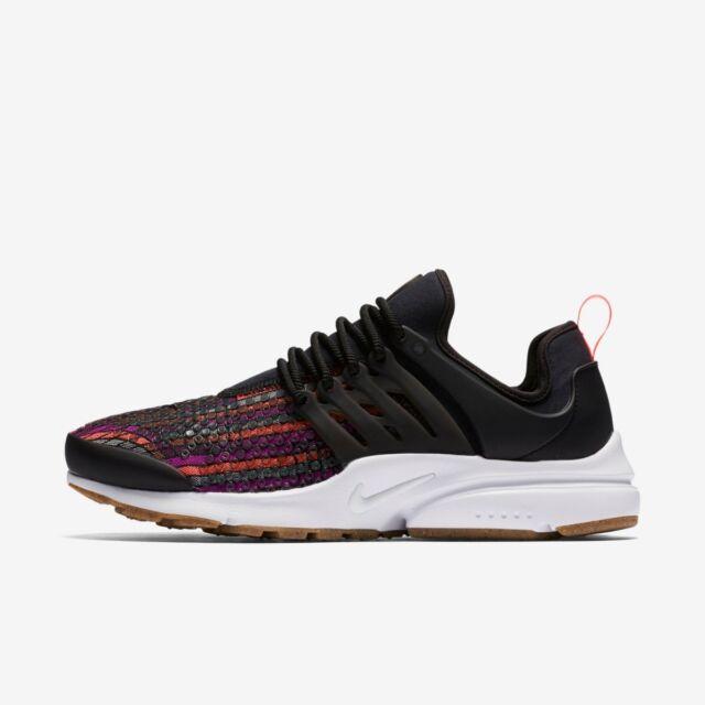 NIKE WMNS AIR presto Jacquard Premium Sneakers 885020001 Varie Dimensioni Nuovo
