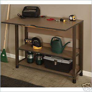 Coleman Renegade EZ Storage Garage Work Table 40474 | EBay