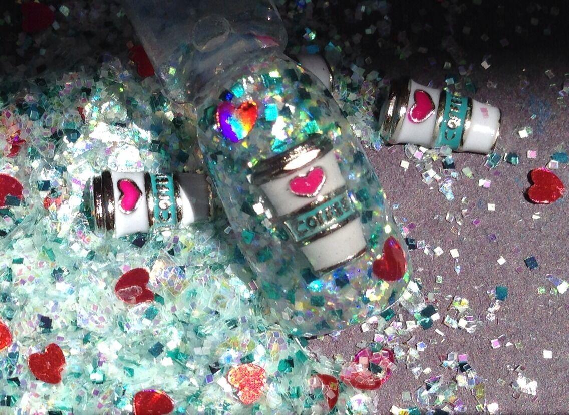 Glitter Mix Nail Art Acrylic GEL Java Limited Edition   eBay