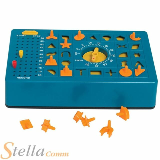 Time Shock Game Clockwork Shape Sorting Race Against The Clock Toy