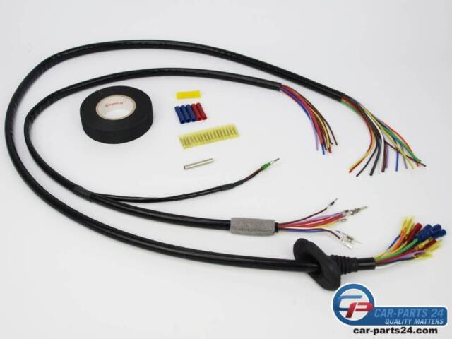 s l640 repair wiring harness tailgate right for bmw 5 series e61 ebay BMW R80 Wiring Harness at eliteediting.co
