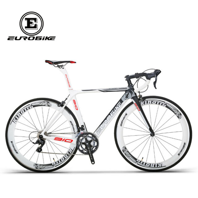 Road Bike 700c Carbon Fiber Frame 18 Speed Cycling Road Racing ...