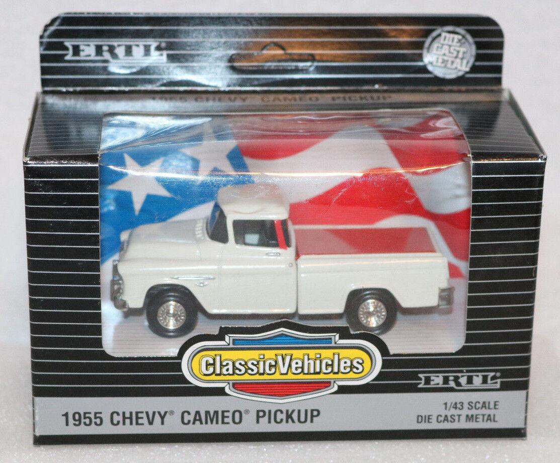 1 43 Diecast 1955 Chevy Cameo Pickup Truck Ertl Classic Vehicles | eBay