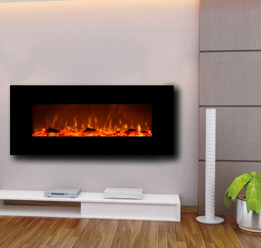 Find great deals for Touchstone 80001 Onyx® Wall Mounted Electric Fireplace 50 Inch Wide Logset 1500w Heat (black). Shop with confidence on eBay!