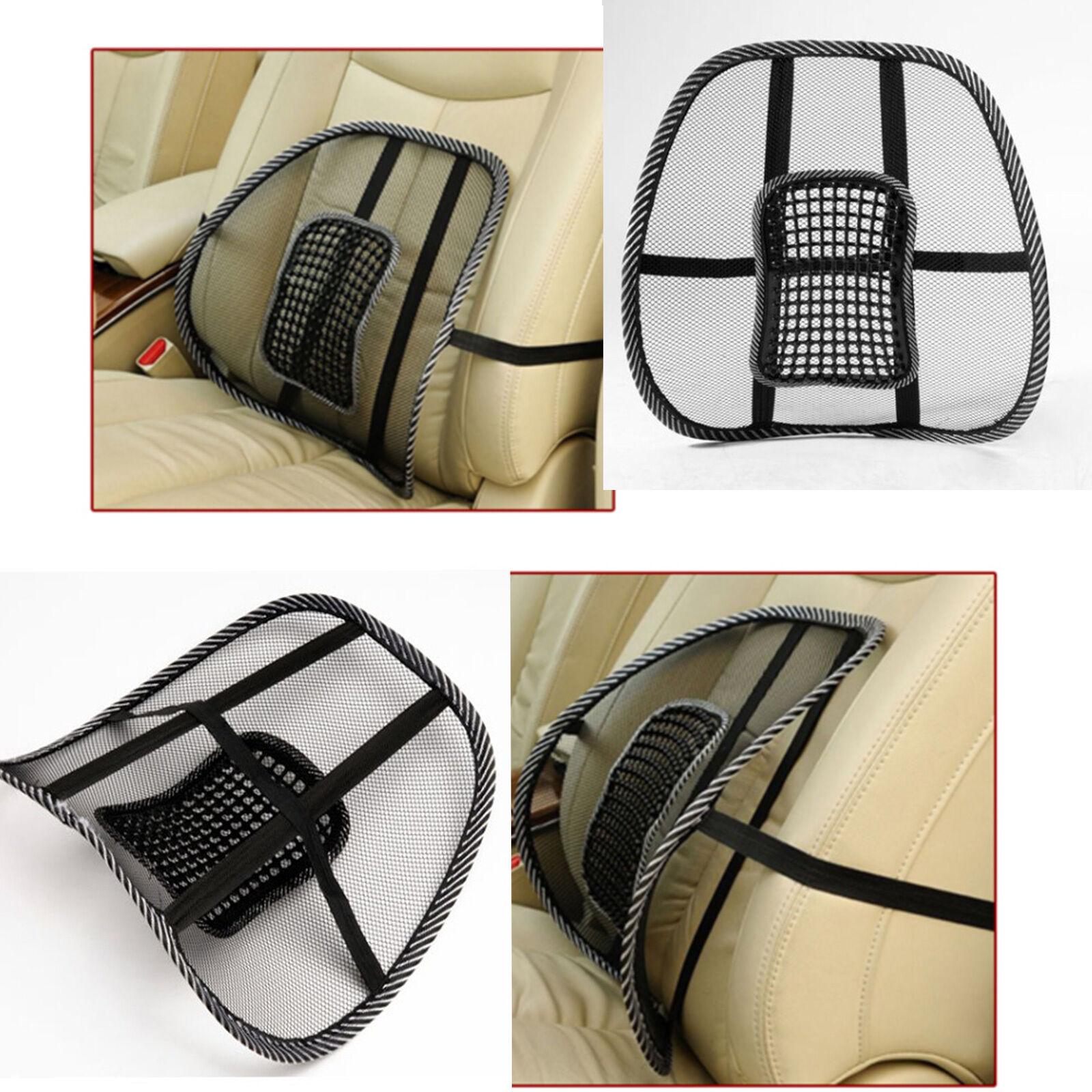 Mesh Lumbar Lower Back Support Cushion Seat Posture Corrector Car
