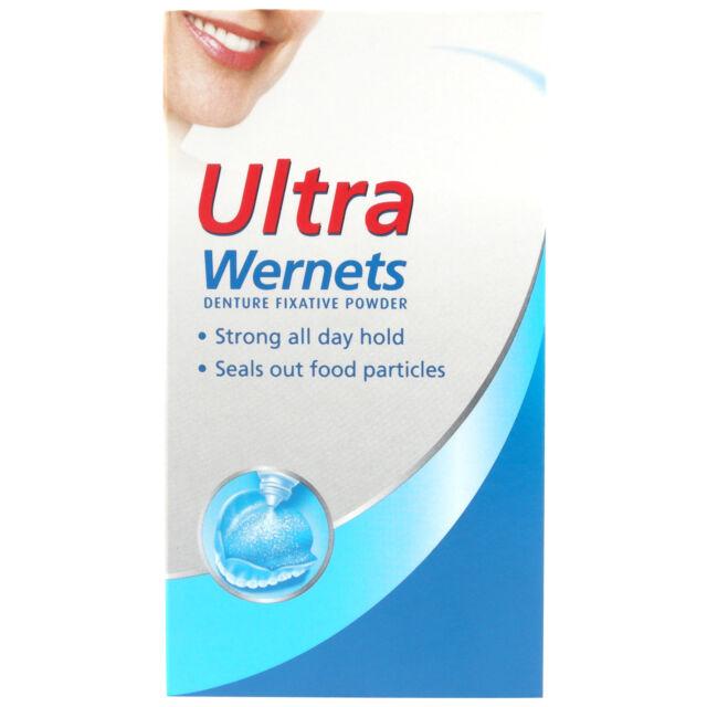 Ultra Wernets Denture Fixative Powder 40g