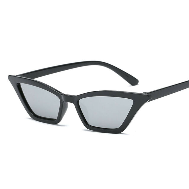 Women Vintage Small Frame Sunglasses Retro Rectangle Fashion Shade ...