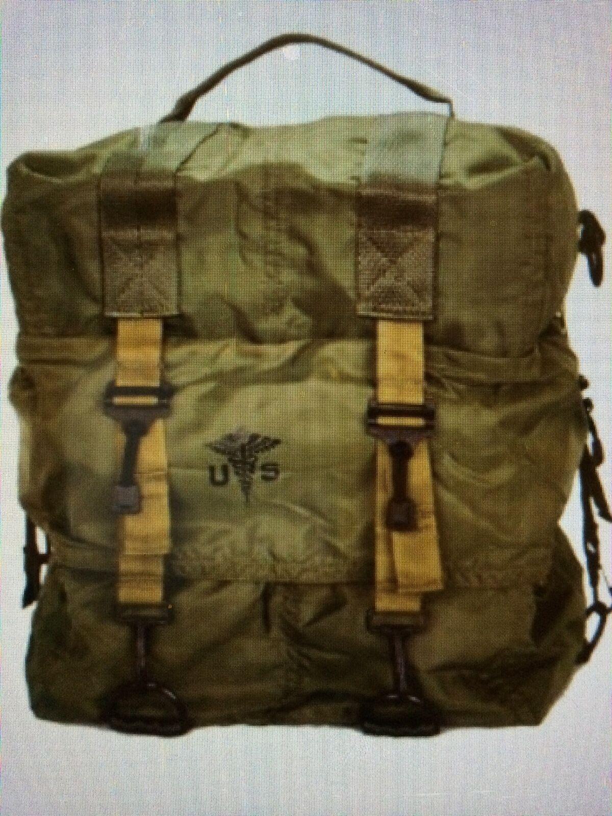 Item 1 New Genuine M17 Us Military Medic Bag Backpack Elite First Aid Army Medical Usmc