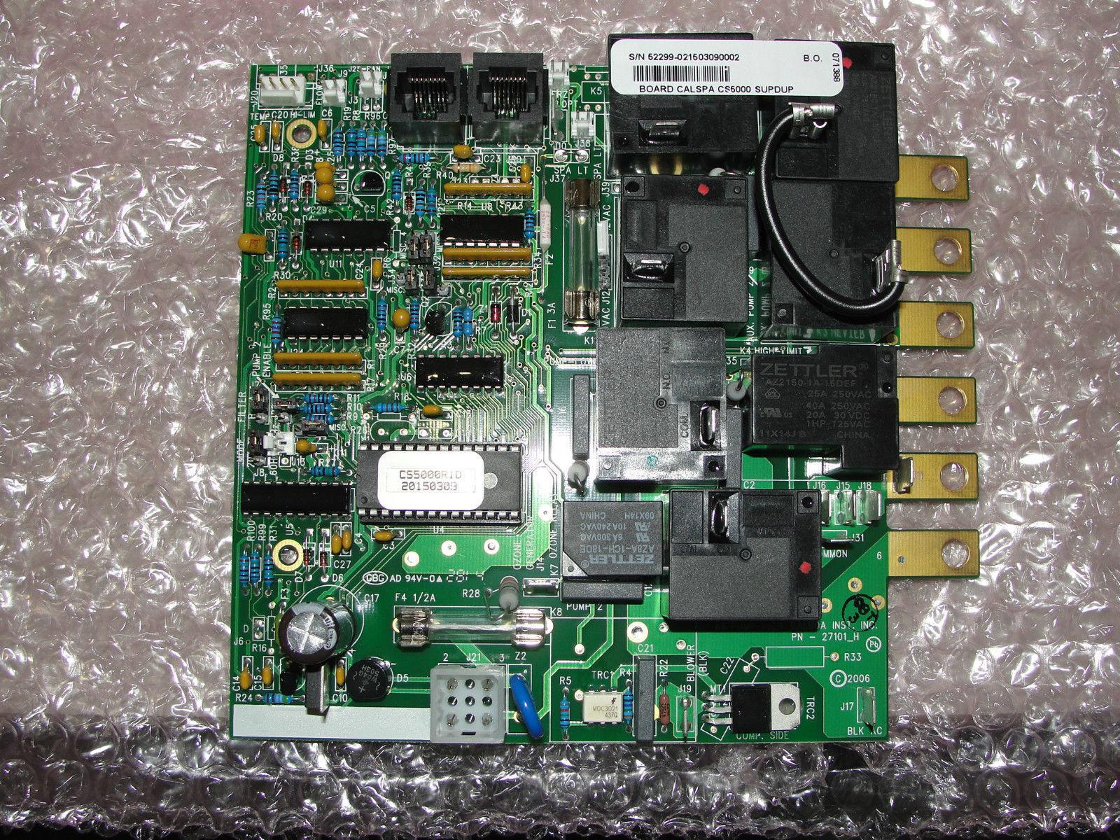 balboa cal spa circuit board 2100r1c