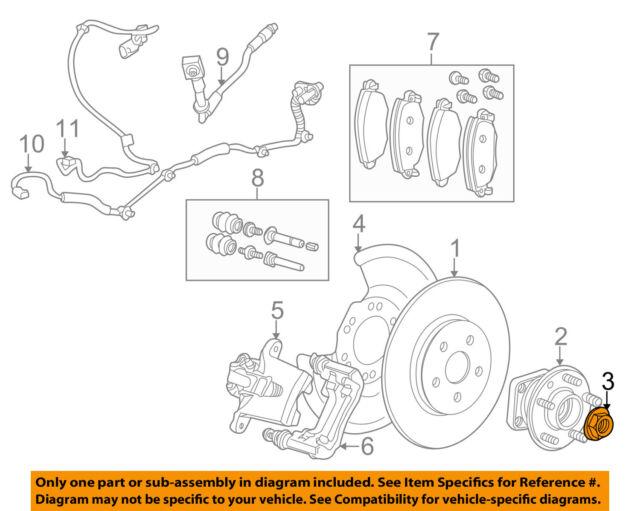 jaguar c2s51676 genuine oem hub bearing nut ebay rh ebay com jag rear hub rebuild Jaguar Animal Diagram