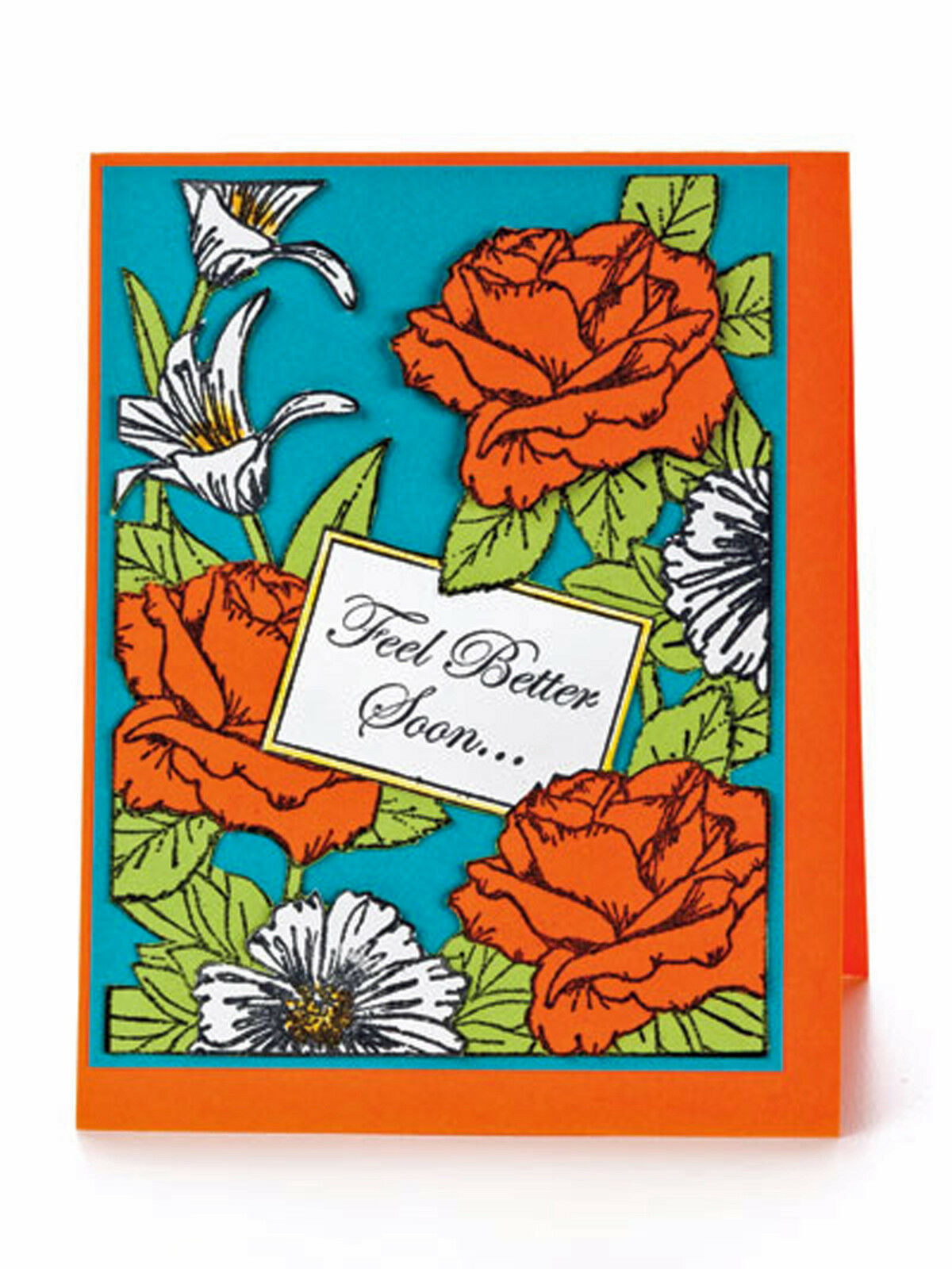 Fabulous Stamped Frames Book Creative Greeting Card Design