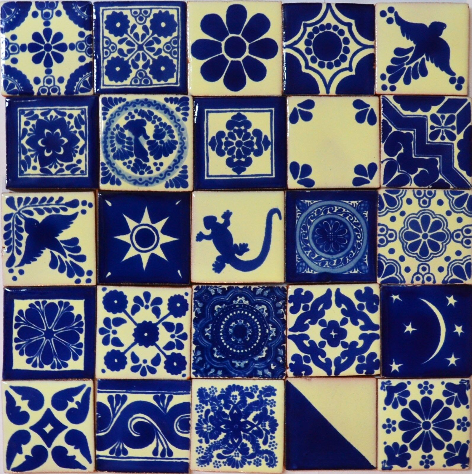 Blue Mexican Tile Techieblogie Info