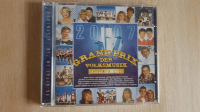 CD  Grand Prix der Volksmusik Finale 2007