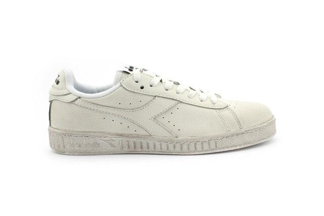 Bianco 10 Diadora Game L Low Waxed Sneaker Uomo // 45 EU Scarpe kd4
