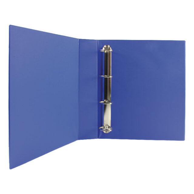 WB VALUE A4 40mm PRESENTATION FOLDER 4D-RING BINDER / BLUE / 10 PACK / WX01331