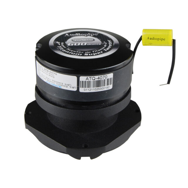 Audiopipe Titanium Super Tweeter  ATQ-4070  600W  8Ohms (SOLD INDIVIDUALLY)