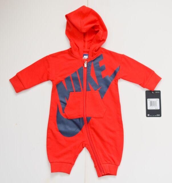 Nike Baby Futura Coveralls Pajamas Body Suit Romper [56B954...]