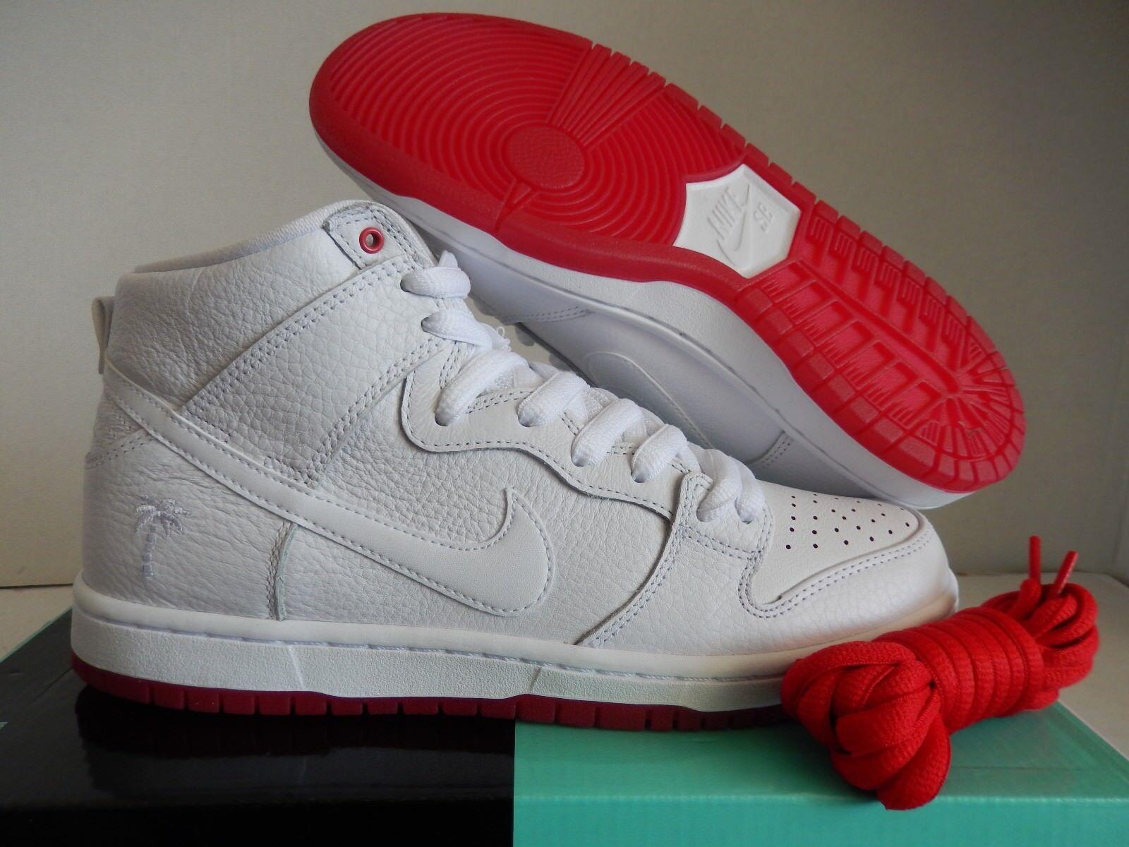 Classic Nike SB top Quality Dunk High QS Kevin Where to buy Bradley Supreme White Red AH9613-116