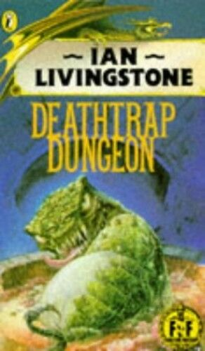 Deathtrap Dungeon (Puffin Adventure Gamebooks) by Jackson, Steve 0140317082 The