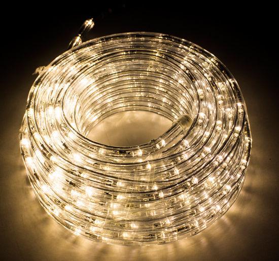 50ft led rope light home christmas decorative party lighting warm 50ft led rope light home christmas decorative party lighting warm white holiday ebay aloadofball Gallery