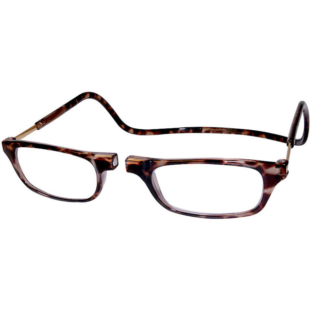 Clic front connection Sun Readers Clear-strength +2.50 5UzzEl