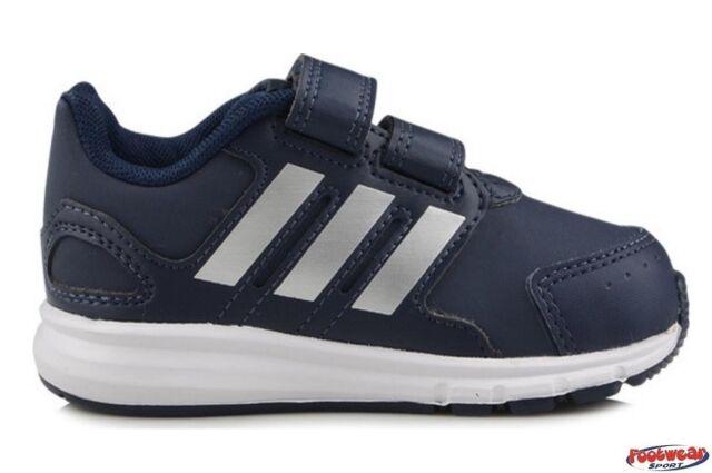 Adidas - Adidas LK Sport CF I Scarpe Bambino Blu Pelle Strappi M29031 - Blu, 20