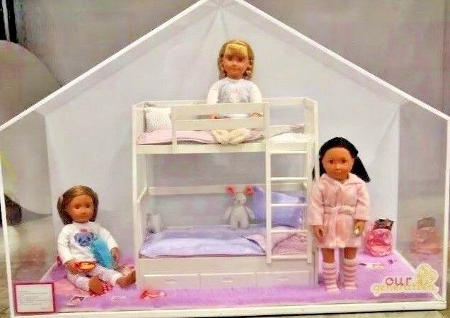 Our Generation Doll Dream Bunk Bed Set American Girl   EBay