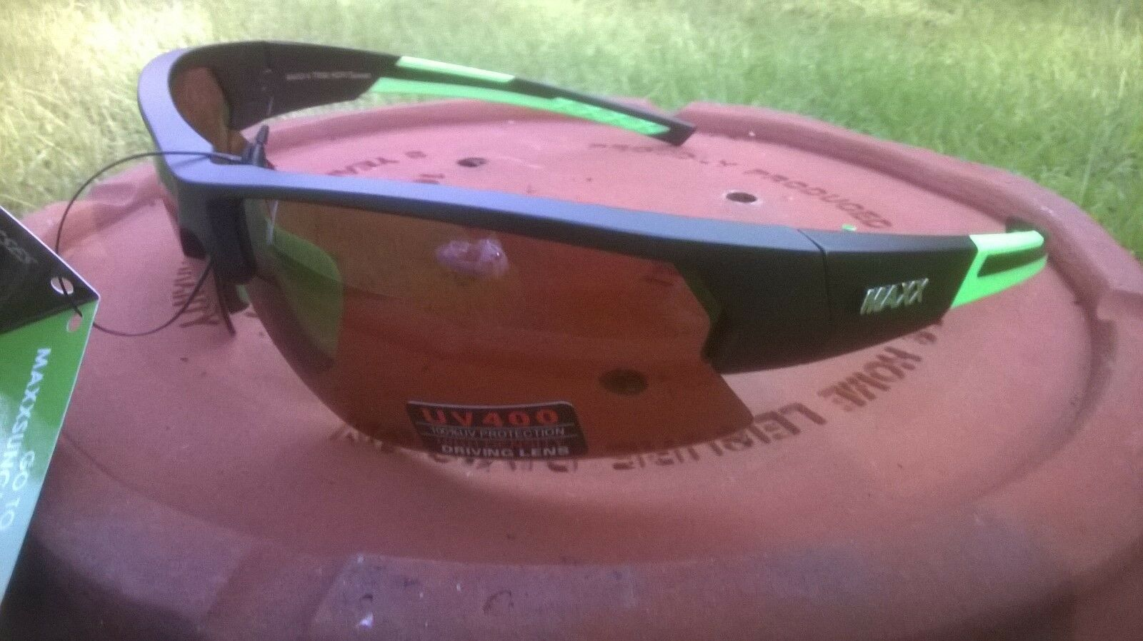 Maxx 4 HD HDP Sunglasses Black Green Brown Lens Polarized Golf ...