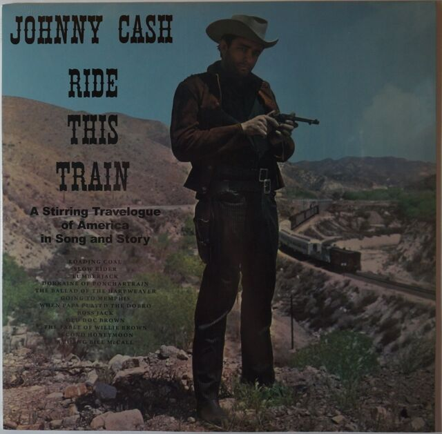 Johnny Cash - ride this train LP 140g HQ vinyl NEU/OVP/SEALED with Bonus