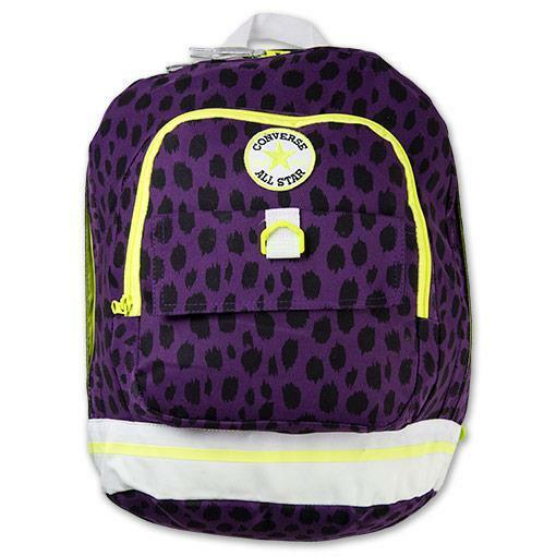 converse purple backpack