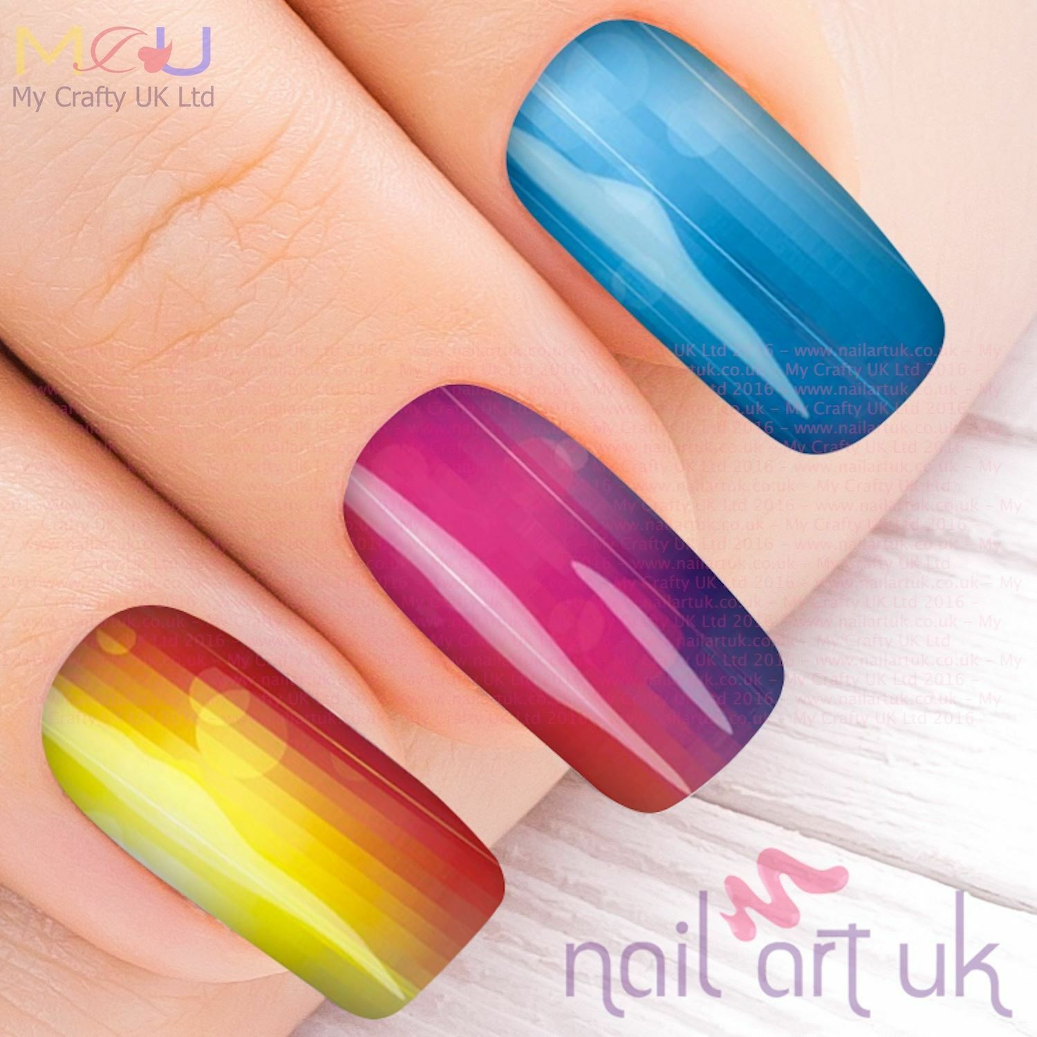 Vivid Neon Water Decal Nail Art Stickers Decals Tattoos   eBay