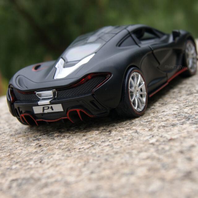 Etonnant McLaren P1 1:32 Alloy Diecast Model Cars Sound U0026 Light Toys Cars Gifts Black