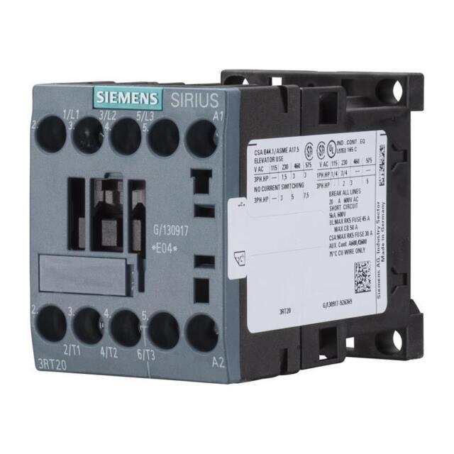 Leistungsschütz 230 V AC, S00, 5,5 kW/400 V, 1 x Schließer Siemens 3RT2017-1AP01