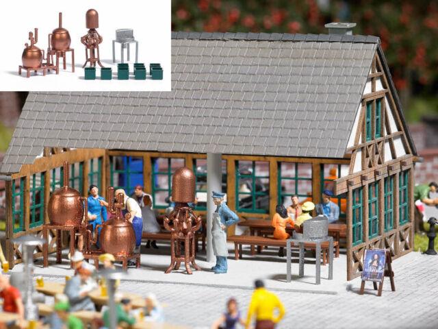 Busch 1177 Brauanlage zur Brauerei Fertigmodell 1:87 H0 Neu