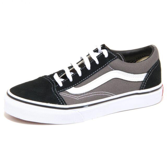 Vans OLD SKOOL LowTop Sneaker unisex bambino Multicolore BLK/PEWTER G4B 3