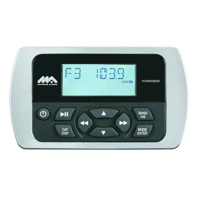 Jensen Marine Audio MARC200 Wired Remote Control UV and Corrosion ...