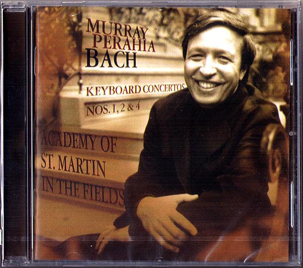 Murray PERAHIA: BACH Keyboard Concerto No.1, 2, 4 SONY CD Klavierkonzerte Piano