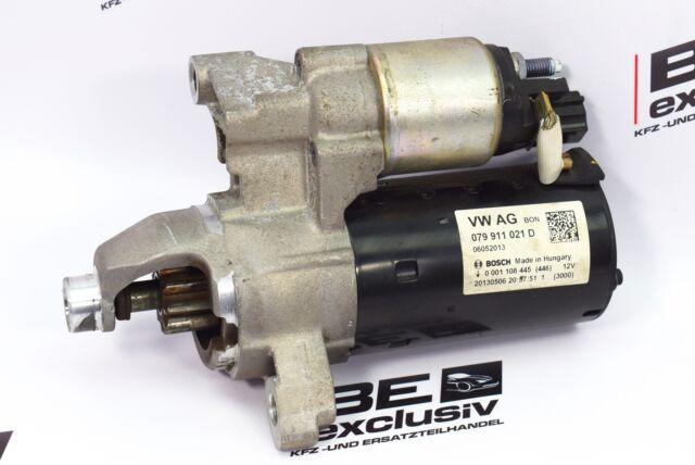 Original Audi RS7 4G V8 TFSI quattro Bosch Anlasser Starter 12V 079911021D