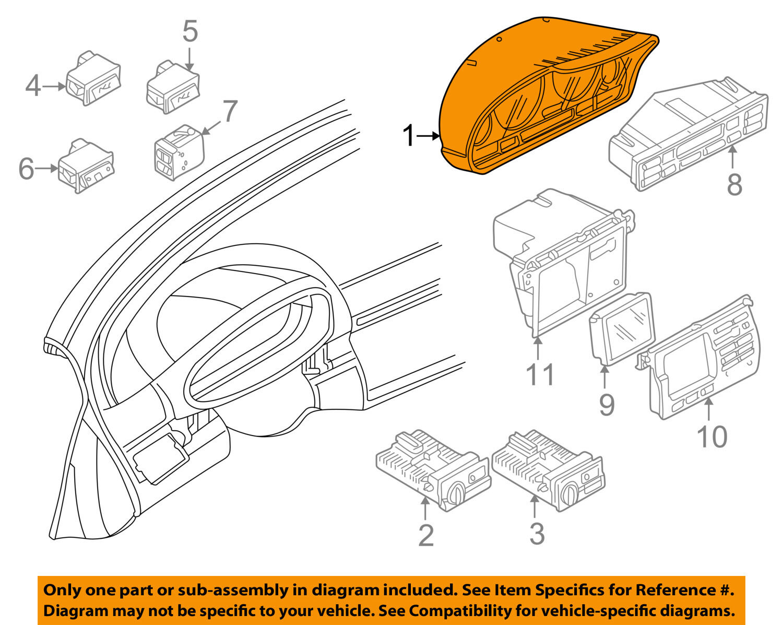 s l1600 bmw e46 auto trans instrument cluster dash gauges panel ebay Gauge Chart at alyssarenee.co