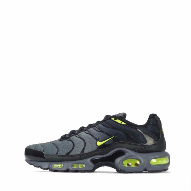 Nike Air Max Plus Tn1 Accordé Zapatos Hombre - Gris Oscuro Noir Volt 093, 6,5 Uk / 40,5 I / 7.5 Nous