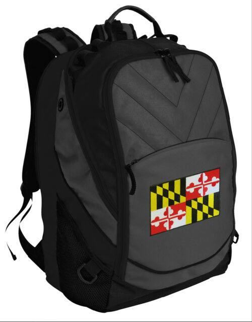 Maryland Flag Backpack Laptop Computer Bag Best Backpacks - for ...