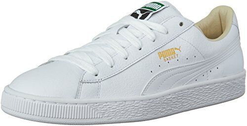 all white puma sneakers